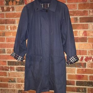 Vintage 90s Burberry trench coat L